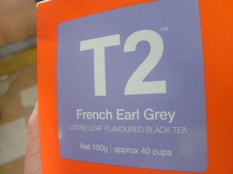 Tea. Custom-ordered by a friend, just for me. <3